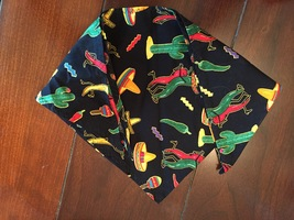 Southwestern doggy neck bandana