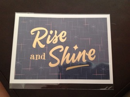 Daniel Gurwin Rise and Shine Print