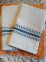 100% Cotton Striped Restaurant Napkins