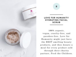 Love for Humanity Hydrating Facial Scrub