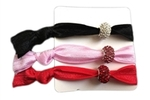 Bling hair ties