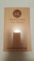 Hamptons Lane Cedar Grilling Planks