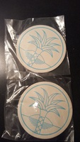 Pineapple Coasters - Set of 4