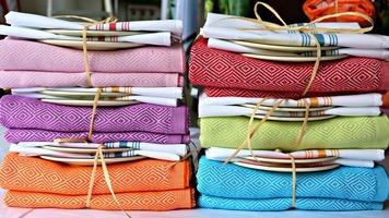 100% Turkish Cotton Picnic Blanket-Purple