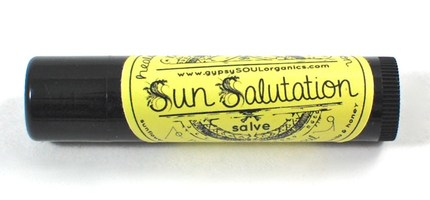 Gypsy Soul Organics Sun Salutation Salve