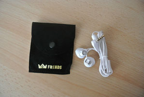 Frends 'The Donna' Earbuds White with Silver Accent