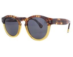 Illesteva Leonard Half/Half Brown L-76 Sunglasses