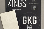 LA Kings Tech Tatoos and Sticker