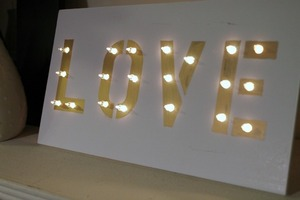 Darby Smart DIY The Marquee Sign Box/Kit