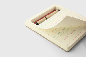 Three By Three - jOTBLOCK Notepad in Red