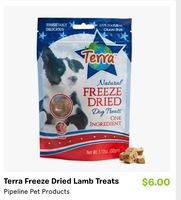Terra Lamb Freeze Dried Treats