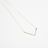 Wishbone Pendant by Tribe Alive
