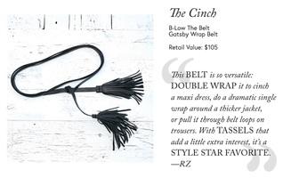 Gatsby Wrap Belt