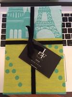 Jacquard Francais Tea Towel Lumiere Vert