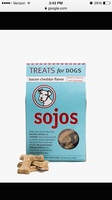 Sojos bacon cheddar treats