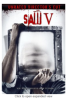 Saw 5 Blu Ray Disc