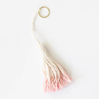 Tassel Bag Charm: by Tribe Alive, Honduras, (Retail $10.)