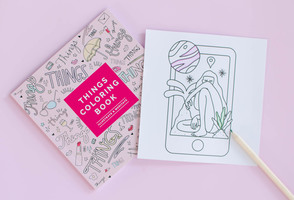FFF Things Coloring Book