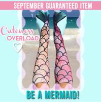 Photo print Mermaid socks one size
