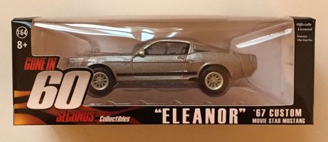 "Gone In 60 Seconds ""Eleanor"" 67 Mustang 1:64 Die-Cast Car"