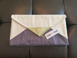 This Loves That Purple Glitter Bag