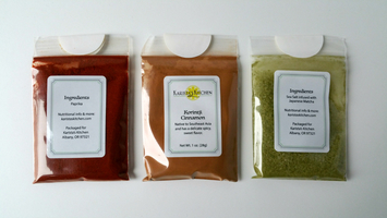 Karista Kitchen Spices & Recipe Cards