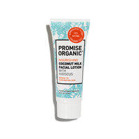 Promise Organic Nourishing Coconut Milk Face Lotion with Hibiscus