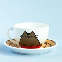 Pusheen Tea Cup Set
