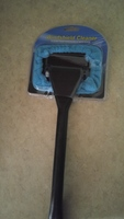 Windshield cleaner with extended handle