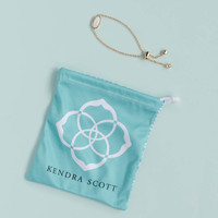 Kendra Scott Elaina Rose Gold Bracelet in White Pearl