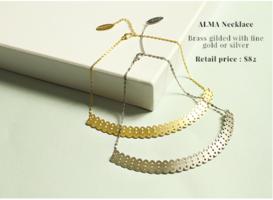 Alma Necklace Silver NEW
