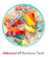 Atkinson's Rainbow Twist Candy