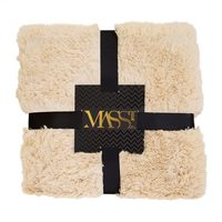 Massi Comodo Dolce Throw in Parchment