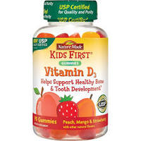 Nature Made Kids First Fruit Flavored Vitamin D3 Gummies - 90 Count