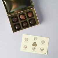 Louis Sherry 6-piece pink truffle collection