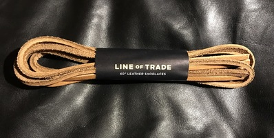 "Line of Trade 40"" Leather Shoeslaces from Bespoke Post"