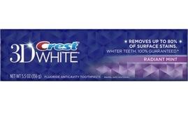 Crest 3D Toothpaste -Radiant Mint