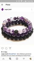 Mahana Gemstone Bracelet - Purple