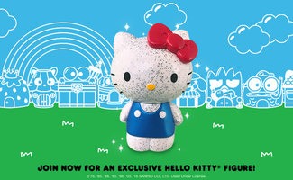Hello Kitty Glitter Figure-Loot Crate Exclusive