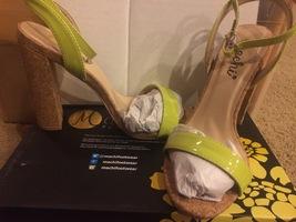 ModCloth Machi cork heel shoes