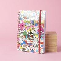 Hello Sanrio Notebook + Stickers