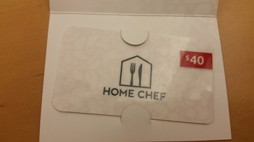 $40 Home Chef Gift Card