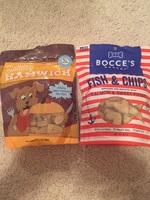 2 bags of treats