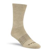 Bombas Merino Wool Calf Socks in Khaki