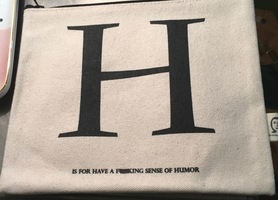 """NSFW!!! Pamela Barsky """"H is for.... """" pouch"""