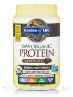 Garden of Life's Raw Organic Protein Powder in Chocolate