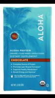 Aloha protein dietary supplement True Chocolate