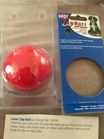 Spot laser Zap Ball by Ethical Pet
