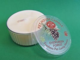 One Fur All Pet House Candle in Evergreen Forest