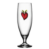 Kosta Boda Friendship Glass (hearts)